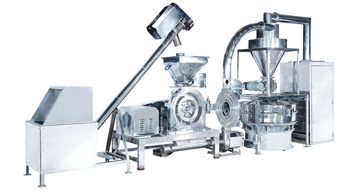 biotech pin mill supply in Taiwan - total powder handling processing equipment