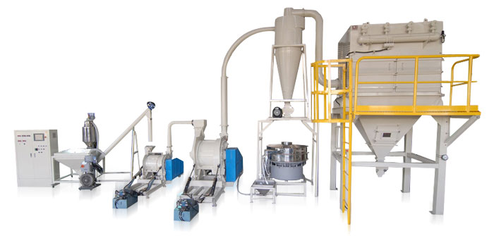 carrageen powder handling equipment turnkey project system