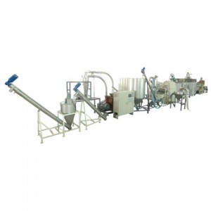 Soybean Sieving, Drying, Peeling, Grinding System
