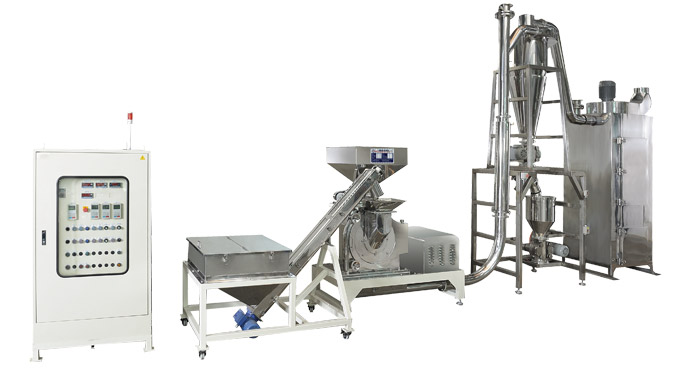 Pin mill powder handling processing equipment for sugar, spice and herb
