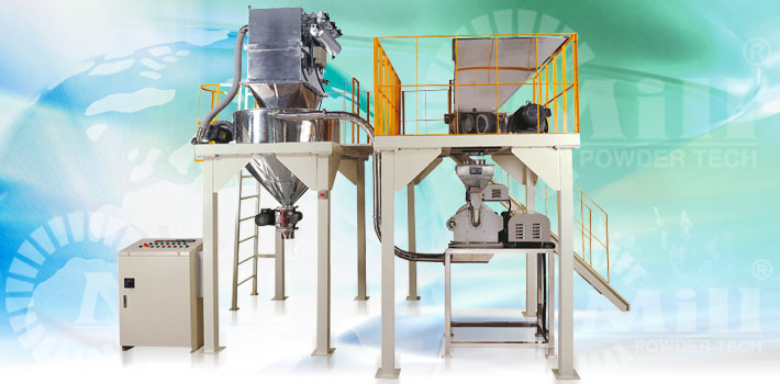 pin molendini pulveris processing equipment