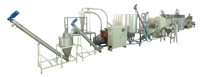 Soy bean powder handling processing equipment turnkey system
